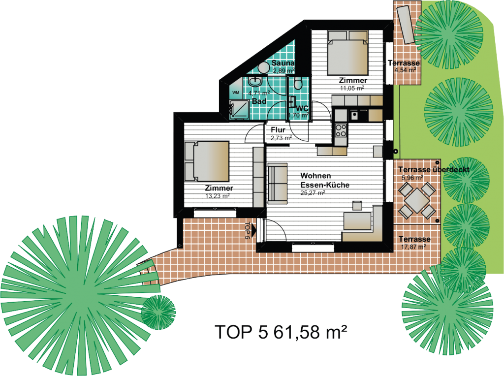 Wohnung Kaernten 5